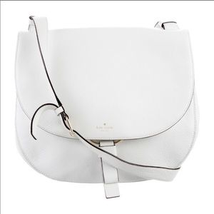 Kate Spade white leather